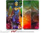 Kathy Gold - Tech Angel 2 - Decal Style skin fits Zune 80/120GB  (ZUNE SOLD SEPARATELY)